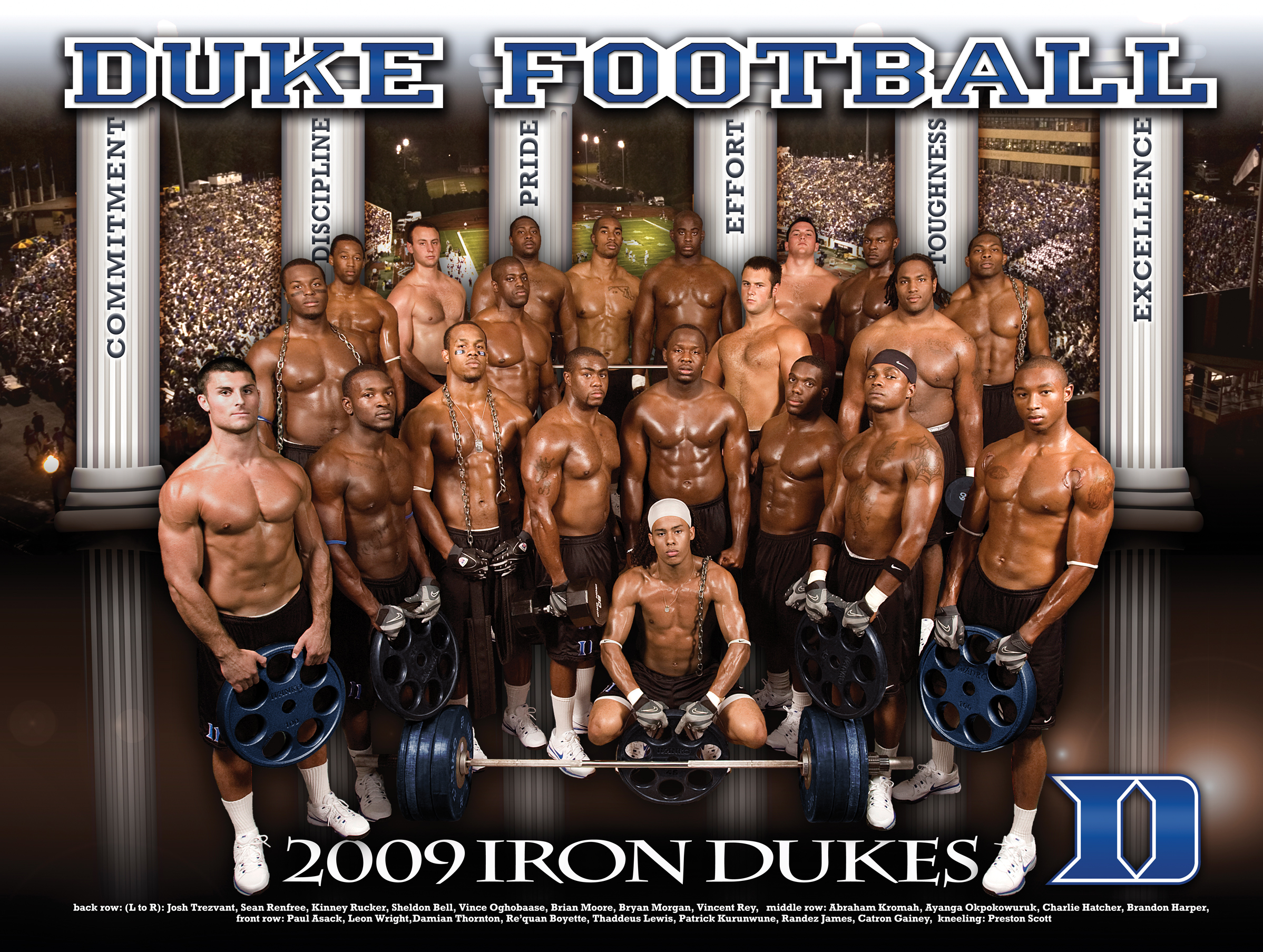 College Footballs Newest Trend Shirtless Photos With A Lot Of Baby Oil